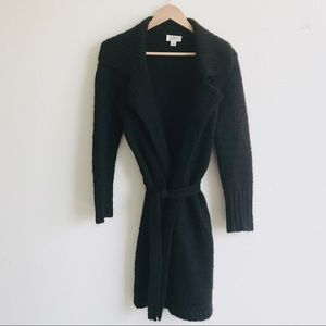 LOFT long Wrap Cardigan Wool Blend